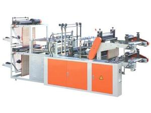 Double Channel Perforated Plastic Bag Making Machine, XD-VB600