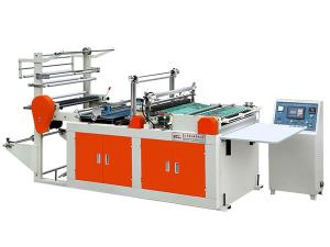 Heat Sealing and Heat Cutting Plastic Bag Making Machine, XD-RQ600